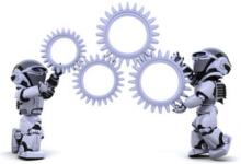 Chaque Robot Trader simule plus de 120 scénarii probables pour déterminer l'évolution du cours de chaques actions du CAC All-Tradable
